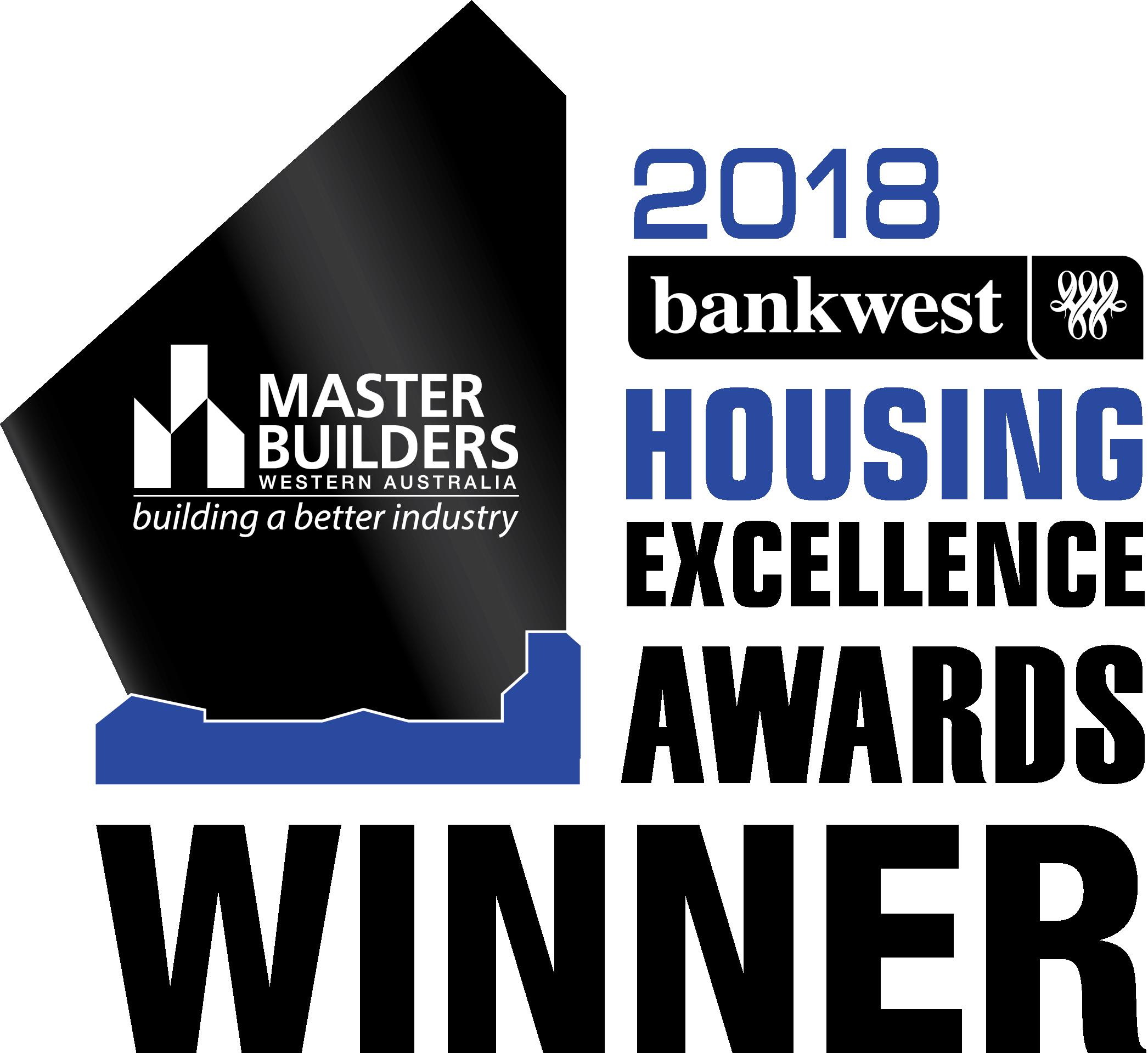 2018 Housing Excellence Awards Winner